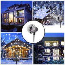 12 Patterns Laser Landscape Projector LED Light Party Xmas Lamp Home Decor AU
