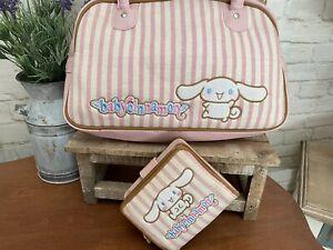 Sanrio Vtg. 2002 Baby Cinnamoroll Tote Handbag Bag W/Matching Wallet NWOT!