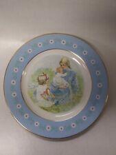 Avon Tenderness Commemorative Collector Plate In Box 1974 Representative Gift