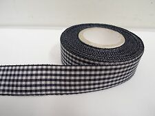 2 metres or full roll 5mm 6mm 10mm 15mm 25mm 40mm Gingham Ribbon Double check UK