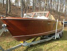 1959 Chris Craft Sportsman 24' all original 283 Corvette engine mahogany boat