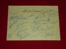 VV St. Truiden - Autogramme - Autographs - 1969-70 -