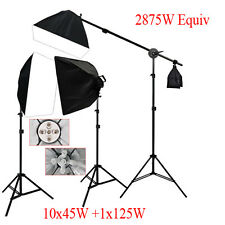 Photography Studio Photo Soft Box Lighting Softbox Boom Arm Light Stand Kit AU
