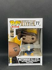 Funko Pop! Rocks Notorious B.I.G with Crown #77