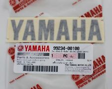 100% GENUINE YAMAHA 100mm X 23mm  BLACK DECAL EMBLEM STICKER BADGE LOGO