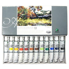 Marie's Acrylic Colors Set, 12ml Tubes, 12 Assorted Colors/Box