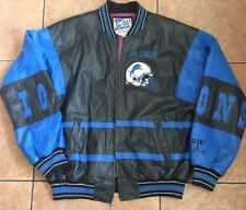 Mens Carl Banks G-III Leather Detroit Lions Jacket, Sz L