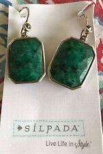 SILPADA Sterling Silver, Stabilized Quartz & Marcasite Earrings New Was $59