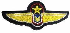 "Babylon 5 Uniform Wings 4"" Wide Embroidered Iron On Patch"