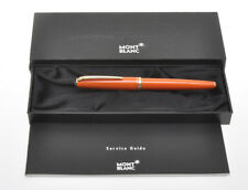 Montblanc Generation Orange (rare colour) fountain pen new pristine in box