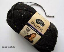 8 x 50g Moda Vera Collette #18 Black with Fleck - Acrylic Wool Knitting Yarn