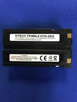 Hitech battery(Japan li2.6A)for TRIMBLE R7/R8 GNSS/5700/5800 GPS Receivers....eq