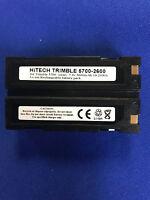 Hitech battery(Japan li2.6A)for TRIMBLE R7/R8 GNSS/5700/5800 GPS Receivers....eq