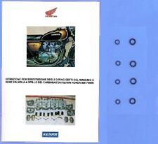 HONDA CB500 FOUR ANNI '70 E ALTRE KIT O-RING REVISIONE CARBURATORI OK OLTRE 100