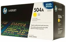 HP Genuine/original 504A (ce252a) Yellow Laser Printer Toner Cartridge