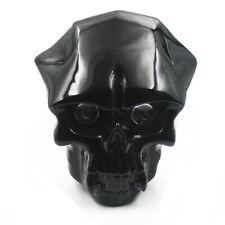 12v Universal Motorcycle 43-46mm LED Skull Head Light Headlight Lamp For Harley