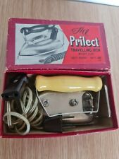 More details for vintage prilect travelling iron #647