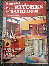 Fawcett How-To Book #674 Remodeling Kitchen or Bathroom Vintage 1967