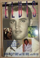 Elvis Precious Memories Hardcover Dust cover New