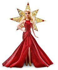 Barbie - Dyx39 Poupée Noel Doré