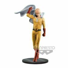 Saitama Figure Statue 20cm Dxf For One Punch Man Original Banpresto Japan New