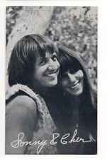 Sonny & Cher 1960's Exhibit Arcade Card