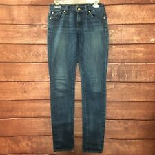 7 Seven for All Mankind Roxanne Womens Slim Skinny Denim Jeans Size 30x34