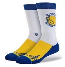 Stance Men's NBA Hardwood Classic Socks, Golden State Warriors - Large / 9-12