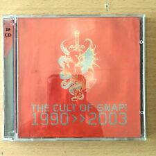 SNAP The Cult of Snap 1990-2003 EU Press DOUBLE CD