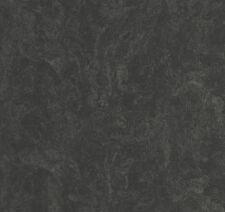 Carat fieltro Papel pintado liso negro brillante 13347-40 de P+S ( Pro M ²)