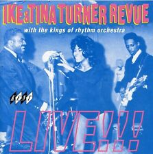 Ike & Tina Turner - Ike & Tina Turner Revue Live [New CD] UK - Import