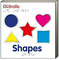 DK Braille Shapes (Board Book) NEW - FREE shipping $35