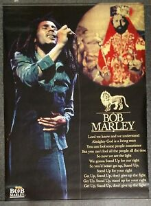 Bob Marley Get Up Stand Up 2003 POSTER Fifty Six Hope Road