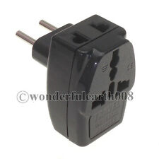 (1 PC) EU Electrical Plug Adapter AC100~250V, 3 Way Outlet Change World Plug