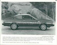 1977 Plymouth Arrow GS Original News Service Photo
