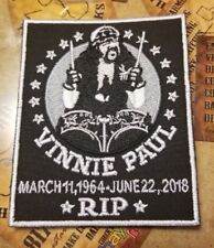 Vinnie Paul RIP Patch
