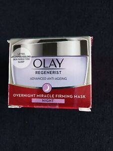 BRAND NEW OLAY REGENERIST ADVANCED ANTI-AGEING OVERNIGHT MIRACLE FIRMING MASK...