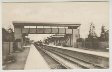 Somerset postcard - Langport East Station with Cornish Riviera