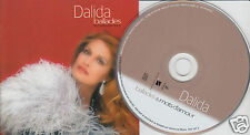 DALIDA Ballades & Mots d'amour (CD 2000) 20 Songs Best of Love Songs French Pop