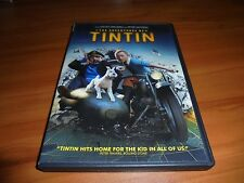 The Adventures of Tintin (DVD,Widescreen 2012) Used Jeffrey Wright Tin-Tin