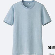LEMAIRE 'U' x UNIQLO 'Indigo Blue' Short Sleeve Designer T-Shirt Men's L **NWT**