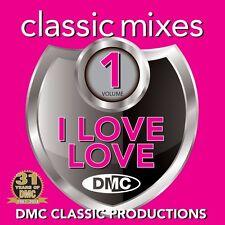 """DMC Classic Mixes DJ CD - I Love """"LOVE"""" Vol 1 Megamix Remix ft The Carpenters"""