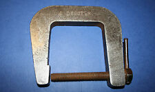 Vintage Engineering Clamp. Steel C Clamp - 6 inch.