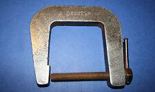Vintage Engineering Clamp. Steel C Clamp - 6 inch.