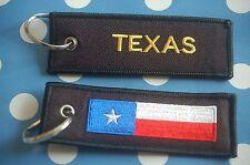 Texas Schlüsselanhänger Anhänger Flagge