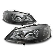Kit De Faros Opel Astra G negro derecho/izquierda! H7 + HB3, eléctr. LWR! NUEVO