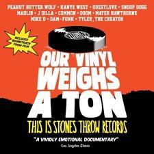 STONES THROW RECORDS PRESENTS - OUR VINYL WEIGHS A TON  DVD + CD NEU