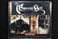 Cypress Hill – Black Sunday & Cypre - 2 CDs  Hip Hop  - FATBOX  (C450)