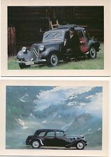 Citroen Traction 5 modern colour Postcard issued by Citroen
