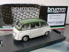 BRUMM 1/43 - FIAT 600 D MULTIPLA 1960 - R 333-07